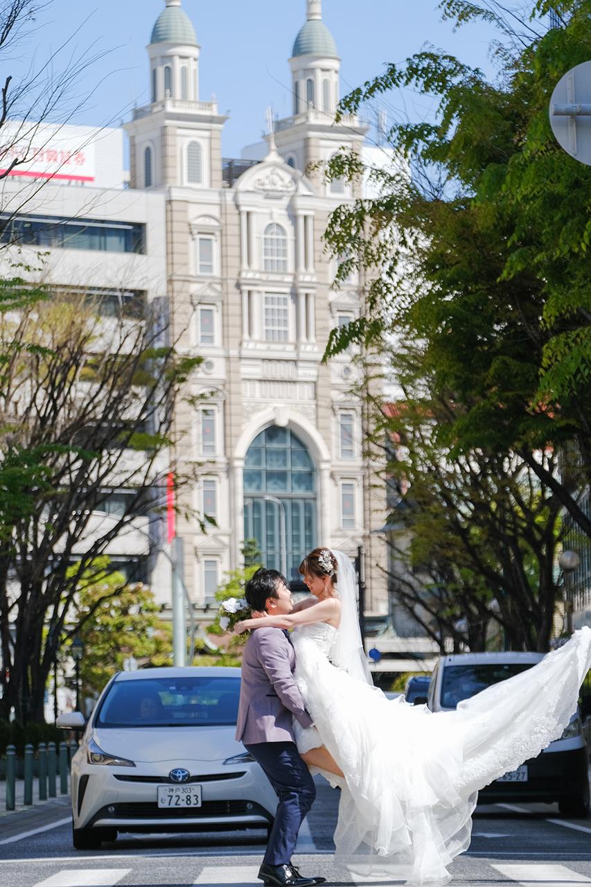 TABI PHOTO WEDDING 神戸居留地