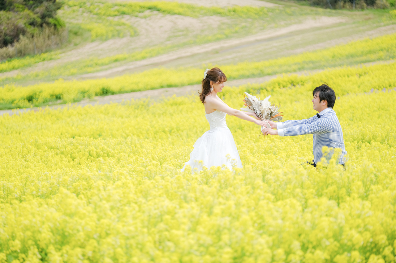 TABI PHOTO WEDDING あわじ花さじき